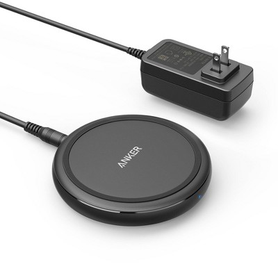 Anker PowerWave II 15W Qi Wireless Charging Pad (w/ Wall Charger) - Black