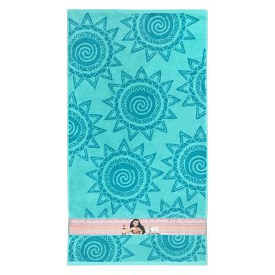 Disney Moana Bath Towel Blue