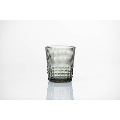 11.5oz 6pk Crystal Malcolm Double Old Fashion Glasses Gray - Fortessa Tableware Solutions