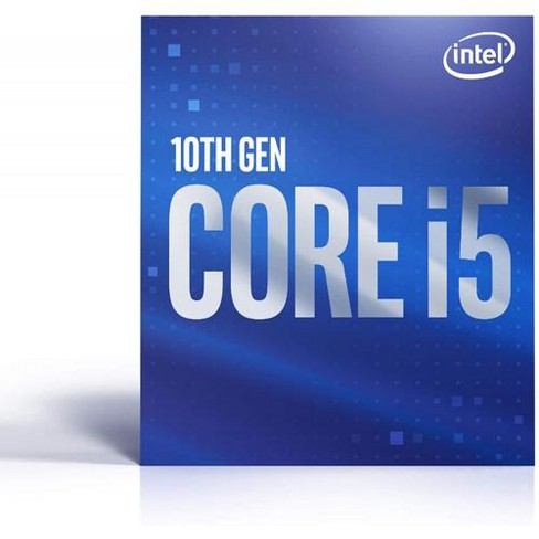 Intel Core i5-10400 Desktop Processor - 6 cores & 12 threads - Up to 4.30 GHz Turbo speed - Socket FCLGA1200 - Intel Optane Memory supported - image 1 of 3