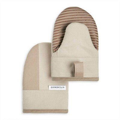 KitchenAid 2pk Cotton Beacon Mini Oven Mitts