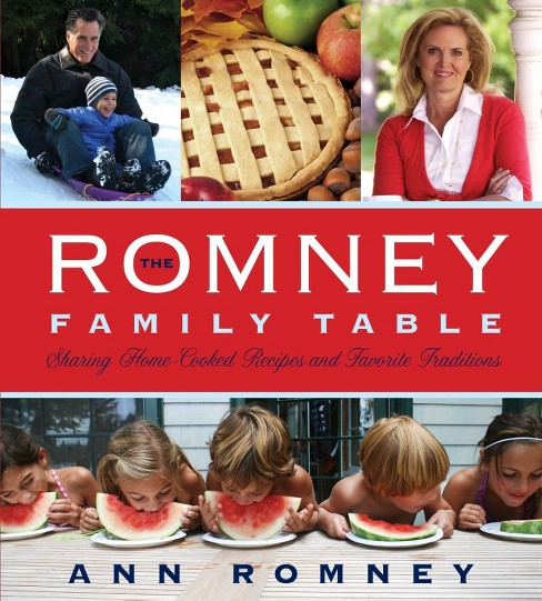 Romney Family Table : Sharing Home-Cooked Recipes and Favorite Traditions (Hardcover) (Ann Romney) - image 1 of 1