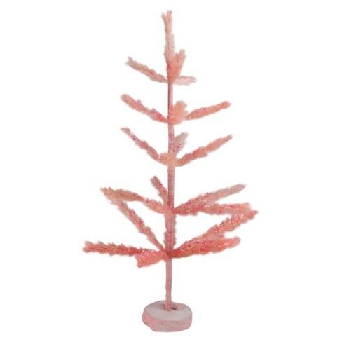 Northlight 2.5' Unlit Artificial Easter Tree Pastel Pink Sisal Pine - image 1 of 2