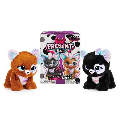Present Pets - Glitter Puppy - Interactive Plush Pet Toy