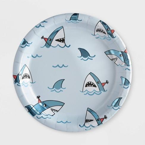 10ct Shark Dinner Plate - Spritz™ - image 1 of 2