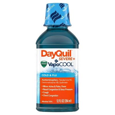 Cold & Flu: DayQuil Severe Vicks VapoCOOL Liquid