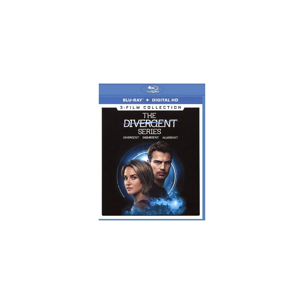 Divergent Series 3 Film Collection (Blu-ray)