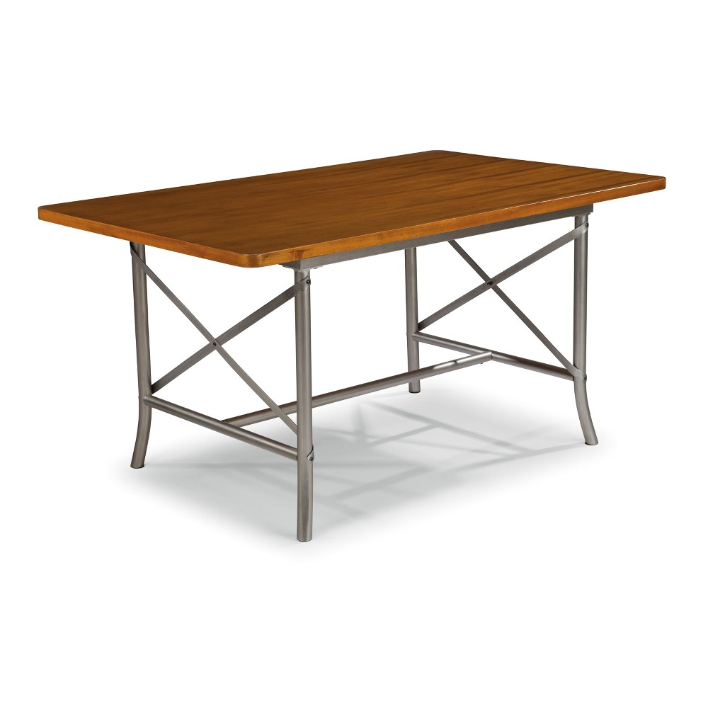 Orleans 60' Rectangular Dining Table Caramel - Home Styles, Brown