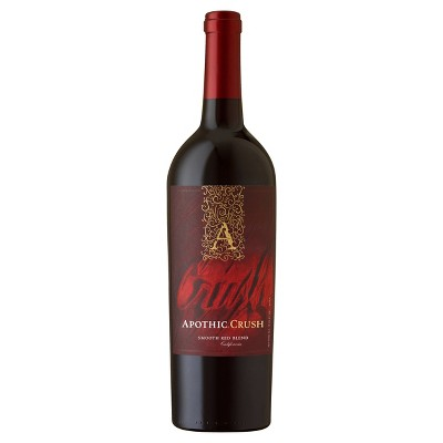 Apothic Crush Red Blend Red Wine - 750ml Bottle