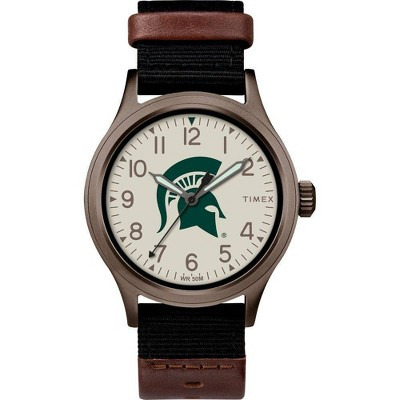 NCAA Michigan State Spartans Tribute Collection Clutch Men's Watch