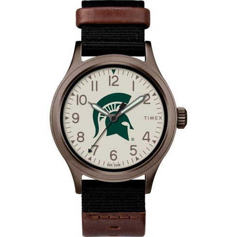 NCAA Michigan State Spartans Tribute Collection Clutch Men's Watch - image 1 of 1