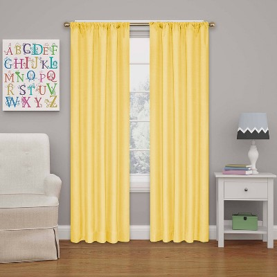 """42"""" Kendall Blackout Thermaback Curtain Panel - Eclipse My Scene"""