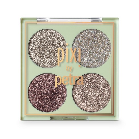 Pixi by Petra Glitter-y Eye Quad Gold Lava - 0.14oz - image 1 of 1