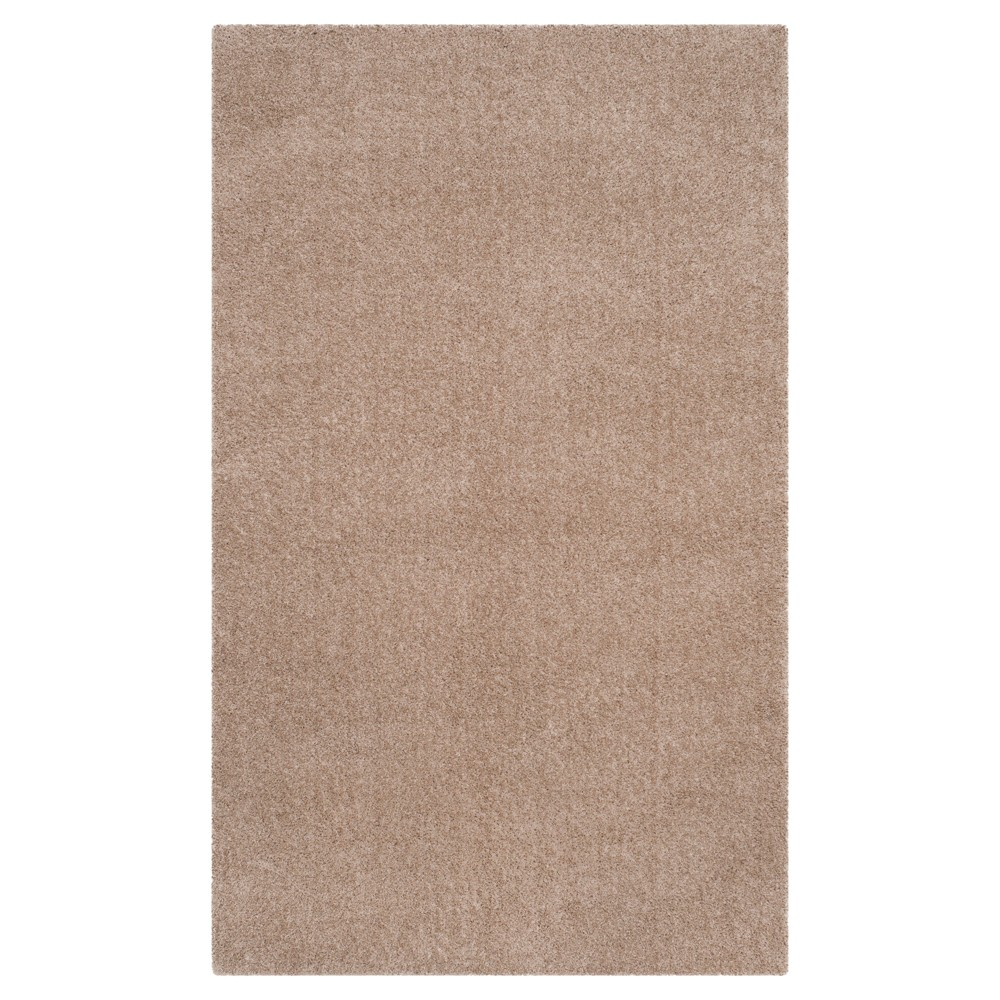 3 39 X5 39 Solid Loomed Accent Rug Light Beige Safavieh