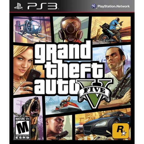 Grand Theft Auto V PlayStation 3 - image 1 of 1