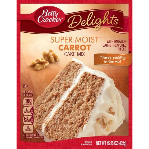 Betty Crocker Super Moist Carrot Cake Mix 15 25oz Target