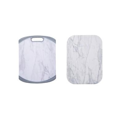 Farberware 11  X 14  Non-Slip Poly Cutting Board and Mat