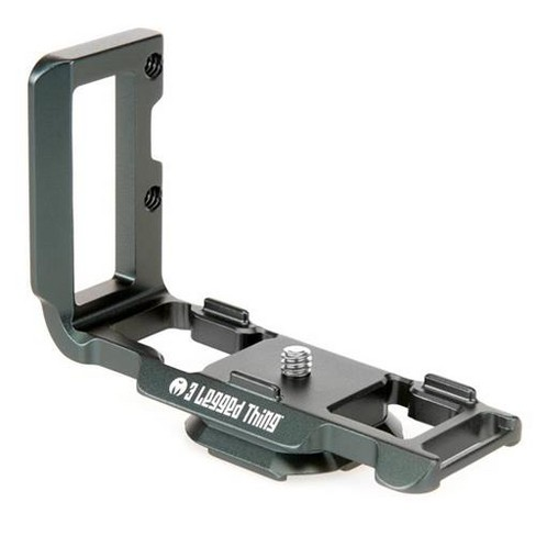 3 Legged Thing Zayla PD L-Bracket with Peak Design Capture-Compatible Base for Nikon Z 50 Series Cameras, Metallic Slate Gray - image 1 of 4