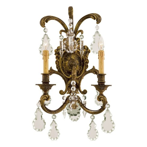 Metropolitan N9200 2 Light Candle-Style Double Wall Sconce from the Foyer Collection - image 1 of 1