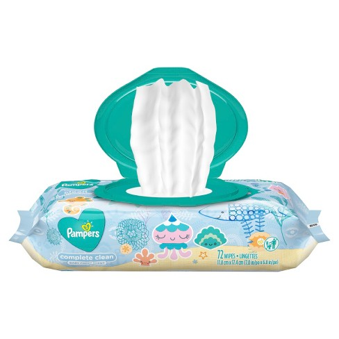 Pampers Wipes Complete Clean - image 1 of 4