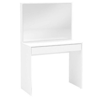 Charlotte Vanity with Mirror White - Chique