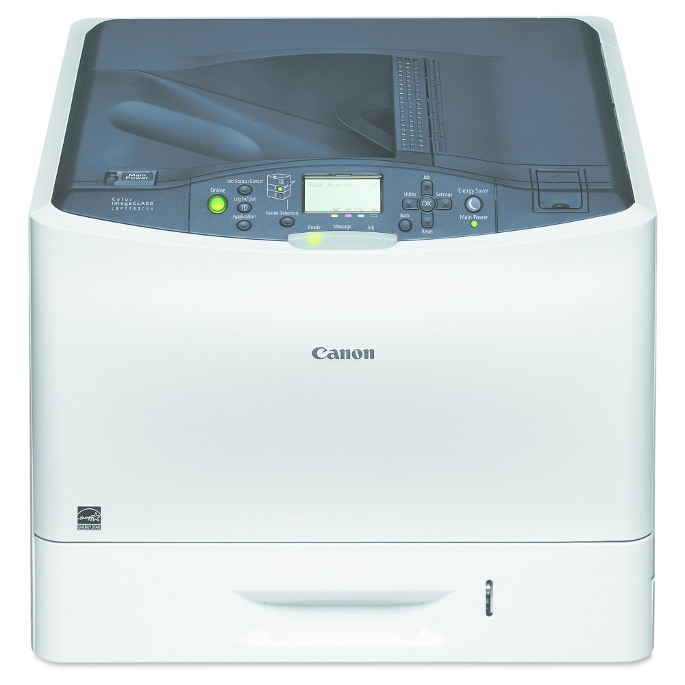 Canon imageCLASS LBP7780Cdn Color Laser Printer - White (CNM6140B006) Get beautiful color printouts with this Canon imageCLASS LBP7780Cdn Color Laser Printer. Automatic 2-sided printing eliminates the confusion around figuring out which way to put in the paper. Print from your smartphone or tablet using the Canon Mobile Printing app.