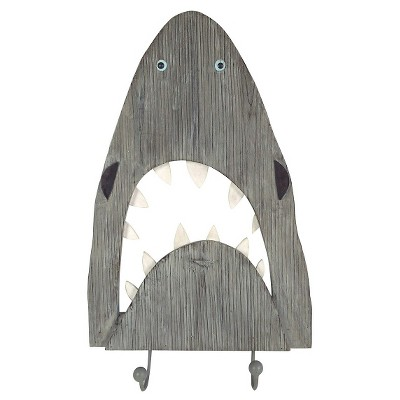 Shark Wall Decor with Hooks - Pillowfort™