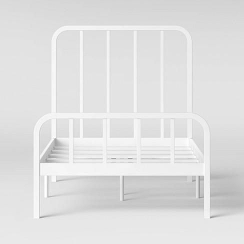 Farmhouse Metal Kids Bed - Pillowfort™ - image 1 of 4