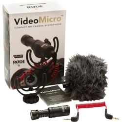 Rode Microphones VideoMicro Compact Directional On-Camera Microphone