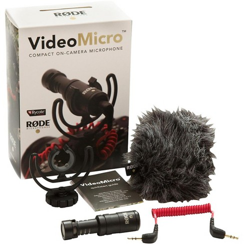 Rode Microphones VideoMicro Compact Directional On-Camera Microphone - image 1 of 4
