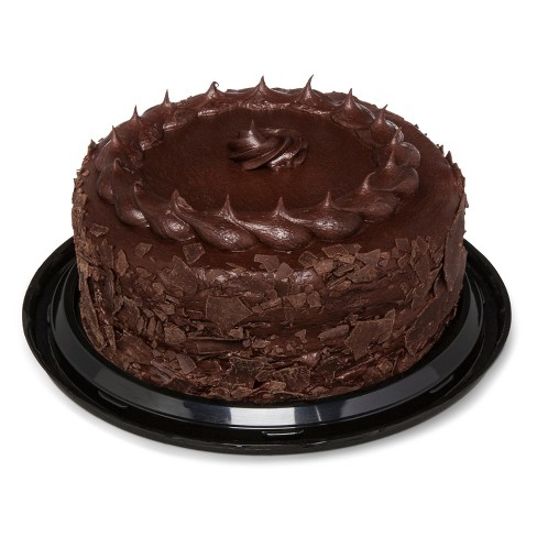 Superb Double Chocolate Cake 9 Market Pantry Target Funny Birthday Cards Online Alyptdamsfinfo