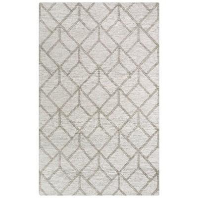Avondale Geometric Wool Area Rug - Rizzy Home