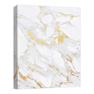 Icy Gold Decorative Canvas Wall Art 11 x14  - PTM Images
