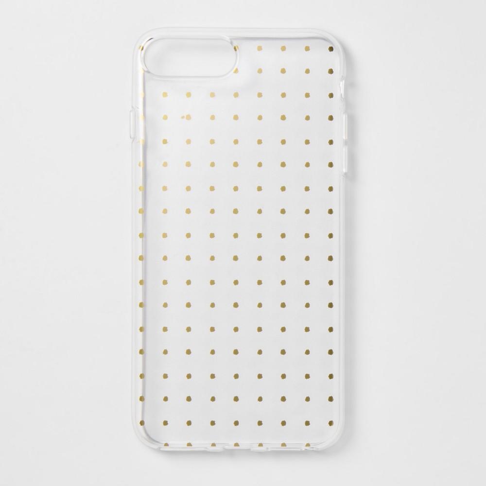 heyday Apple iPhone 8 Plus/7 Plus/6s Plus/6 Plus Printed Case - Gold