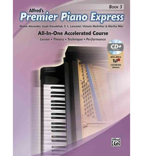 Premier Piano Express : All-in-one Accelerated Course, Book, Cd-rom & Online Audio & Software - image 1 of 1