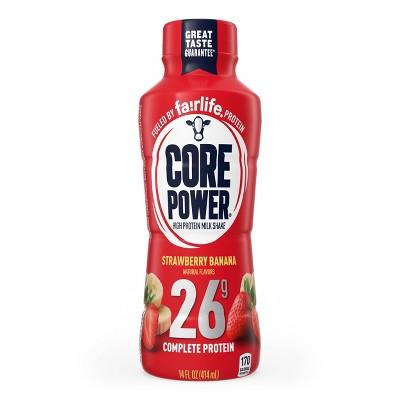 Core Power Strawberry Banana 26G Protein Shake - 14 fl oz Bottle