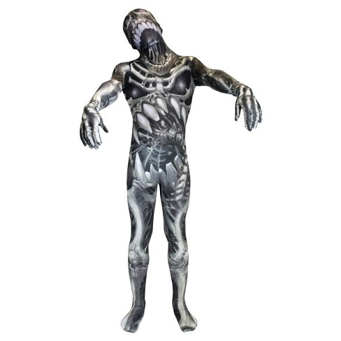 Morph Skull N Bones Men's Costume Top - image 1 of 1