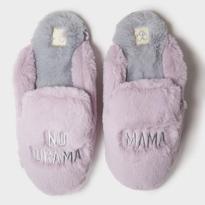 Women's dluxe by dearfoams No Mama Drama Slide Slippers - Violet M (7-8)