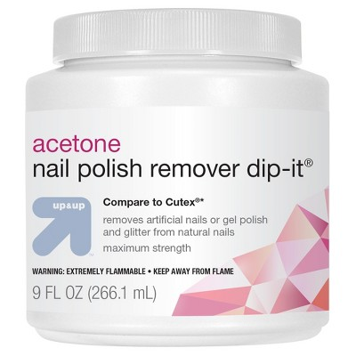 Maximum Strength Acetone Nail Polish Remover - 9 fl oz - up & up™