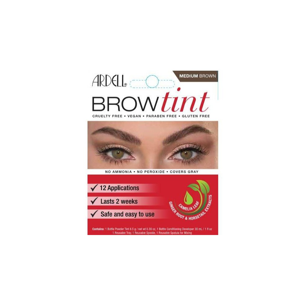 Image of Ardell Brow Tint Medium Brown - 12ct