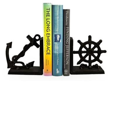 Nautical Iron Bookend Set