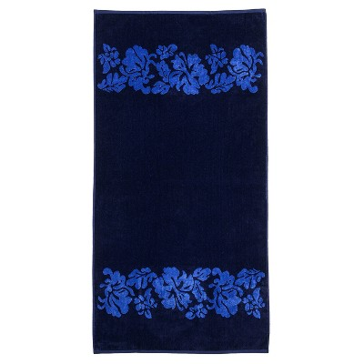 Fisherman Anchor Cotton Oversized 2-Piece Beach Towel Set by Blue Nile Mills