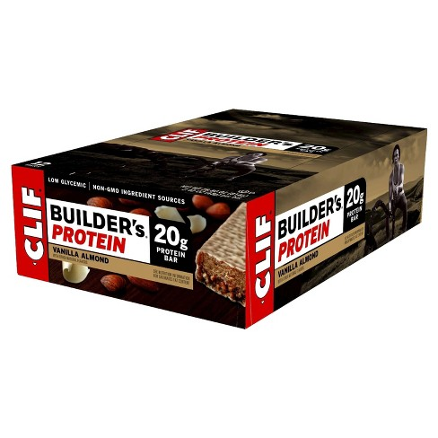 Clif Builder's Protein Bar - Vanilla Almond - 12ct - image 1 of 2
