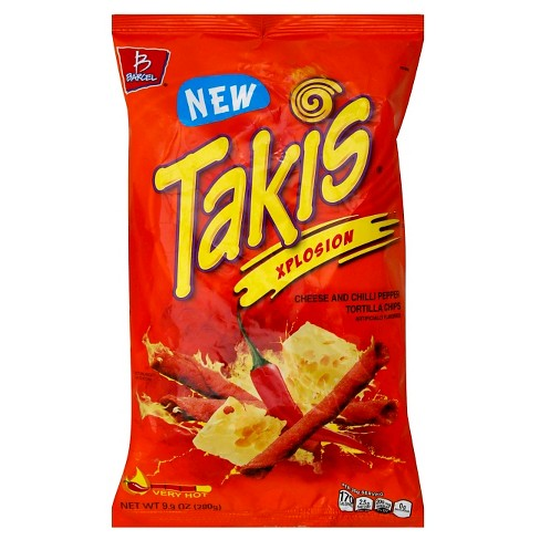 Barcel Takis Xplosion Cheese & Chilli Pepper Tortilla Chips - 9.9 oz - image 1 of 1