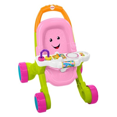 Fisher-Price Stroll & Learn Walker - Pink