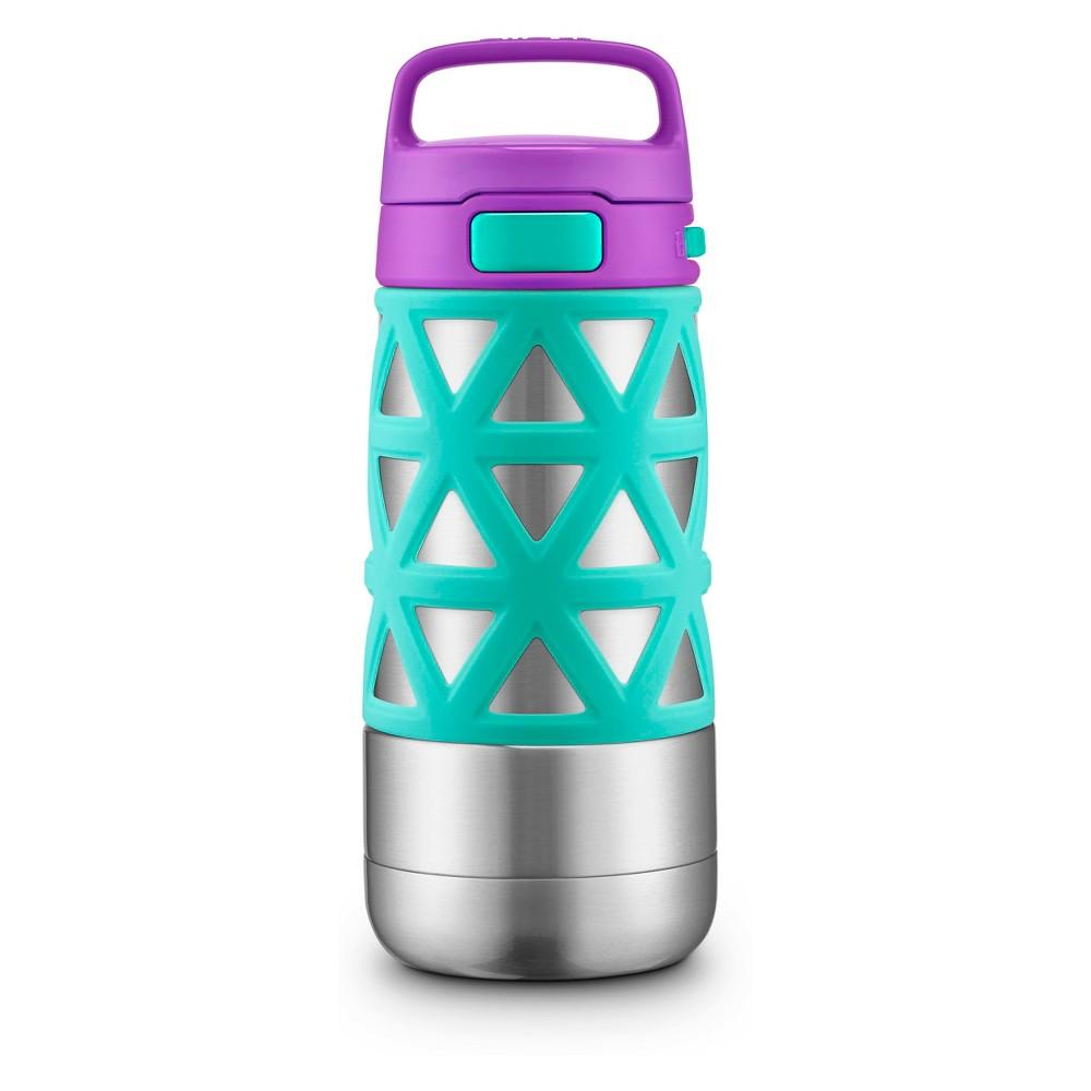 Ello Max 14oz Stainless Steel Water Bottle - Purple