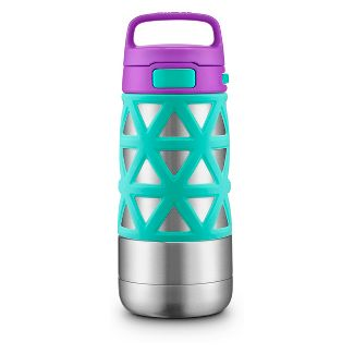 Ello Max 14oz Stainless Steel Water Bottle - Purple