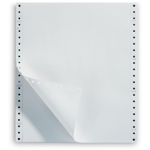 Staples 1-Part Premium Bright Blank Computer 26154/177090/49 - image 1 of 2