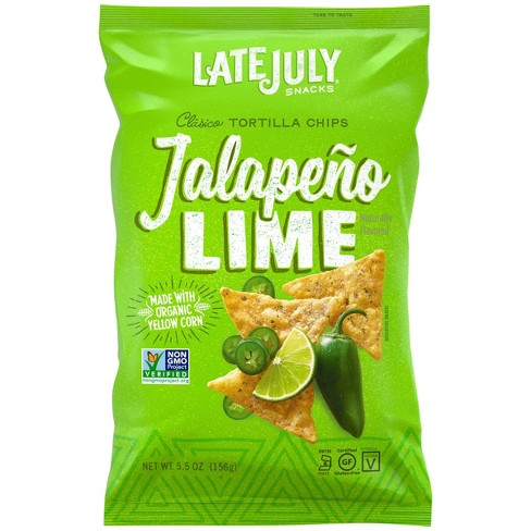 Late July Jalapeno Lime Tortilla Chips - 5.5oz - image 1 of 4