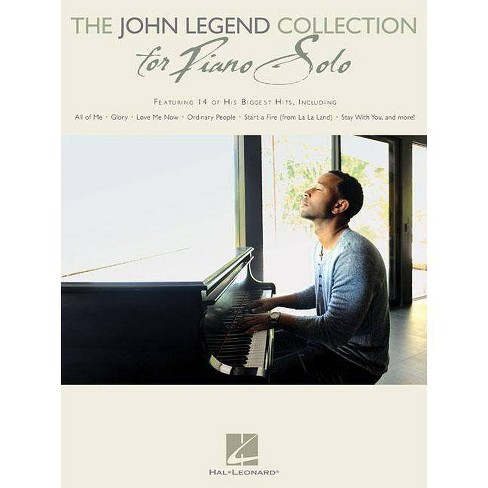 The John Legend Collection for Piano Solo - (Paperback) - image 1 of 1